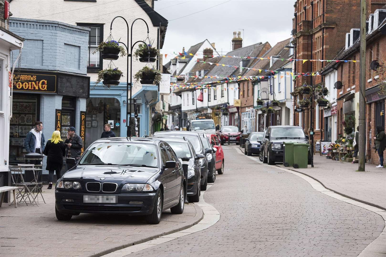 Parking in St Johns Street in Bury St Edmunds (7034867)