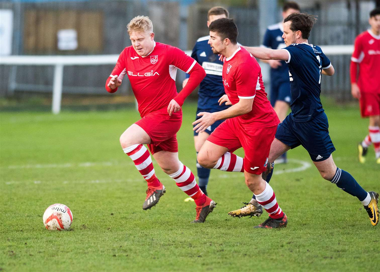 Football 3pm at Ely: Ely City v Haverhill Rovers Steve Holder Ely Picture Mark Westley. (6245877)