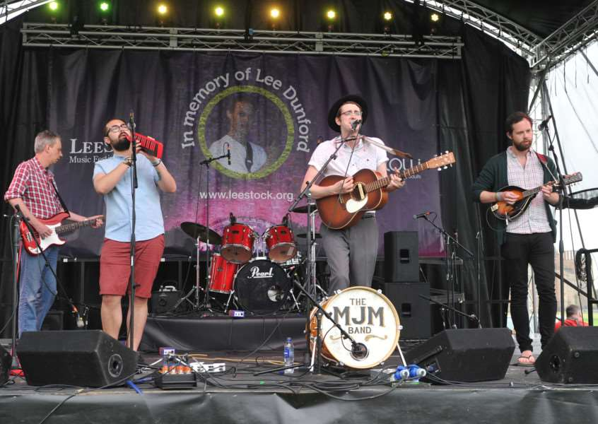 LeeStock 2015''Pictured: The MJM Band ANL-150525-232517009