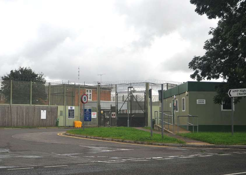 HMP Highpoint Prison, off the A143 near Stradishall.