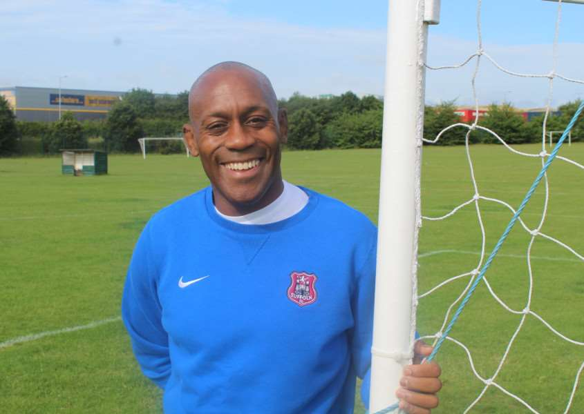 Ian Brown will co-manage Suffolk FA Under-18s