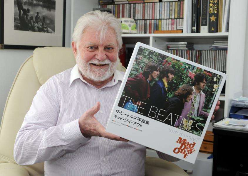 Tom Murray's day out with The Beatles has been documented in a new book which will be released in the UK and Japan in June.''''PICTURE: Mecha Morton