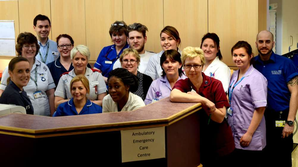 The ambulatory care team was recognised in last year's Shining Lights Awards for its pivotal role in keeping patients flowing through the hospital and providing effective care regardless of how busy they are.
