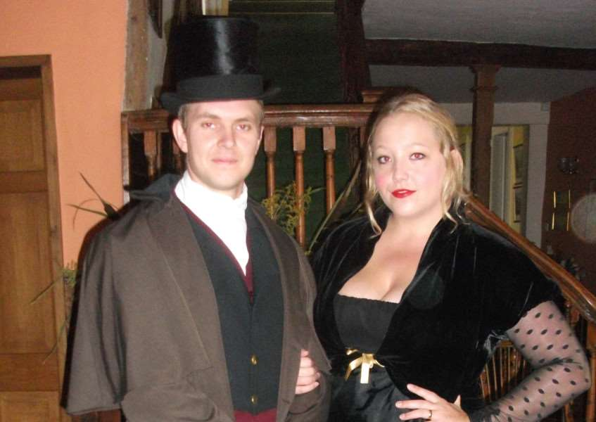 Rachael Lowe of Acton, and Colchester actor Michael Howard, are both appearing in The Haunted. ANL-150930-092020001