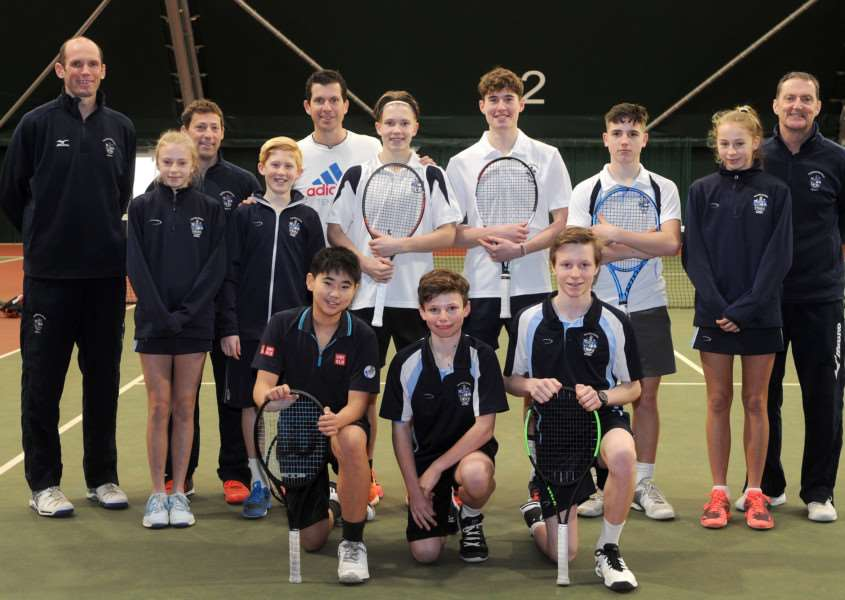 ONGOING RELATIONSHIP: Tim Henman was back at Culford this week Picture: Mecha Morton