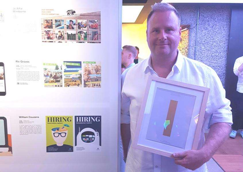 Ric Groves, who has won a national design award for his cider brand video