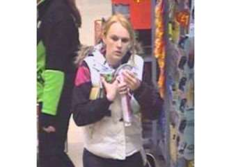 Police have released CCTV images of a woman they would like to speak with in connection with a theft from a shop in Stowmarket. ANL-150320-162059001
