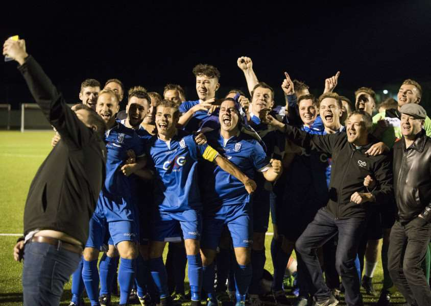 RANKLED: Borough's celebrations after winning last year have stuck in some of the Rovers' players memories