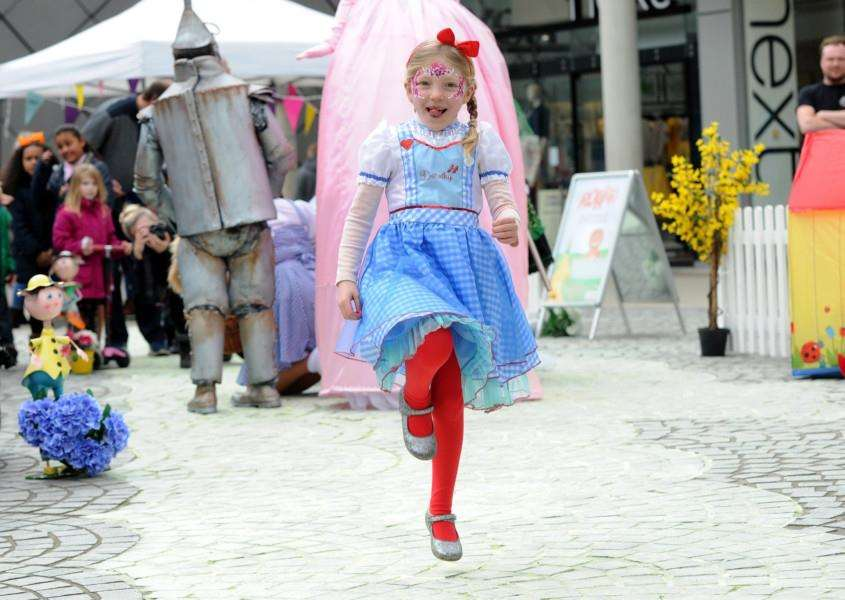 Hollie Hartnell, six, had dressed up as Dorothy'''PICTURE: Mecha Morton