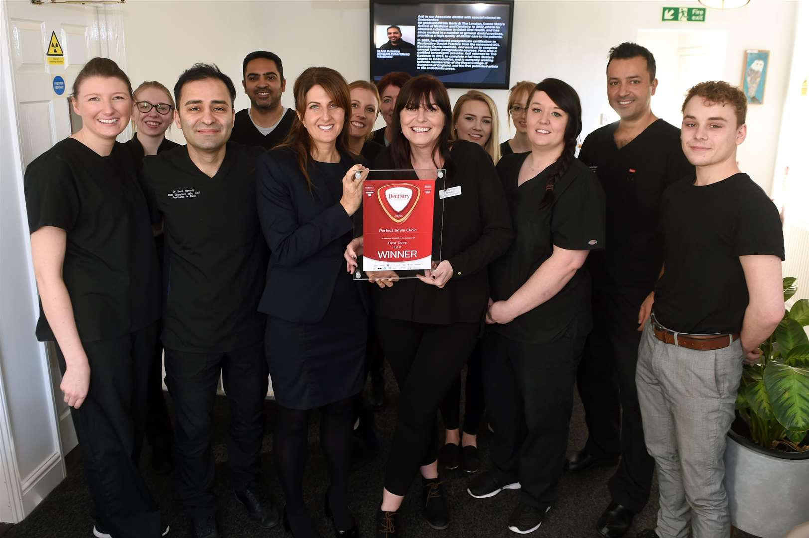 Perfect Smile Clinic in Sudbury has won the Best Team award for the East of England at the 2019 Dentistry Awards.....PICTURE: Mecha Morton .... (23154841)