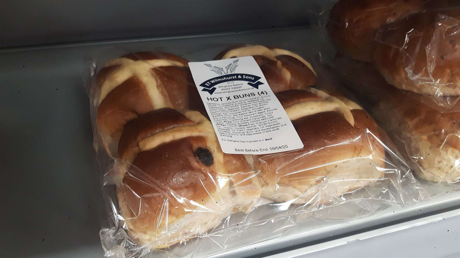 Hot cross buns, like these ones made in Wingham, have been an Easter staple for centuries (33134434)
