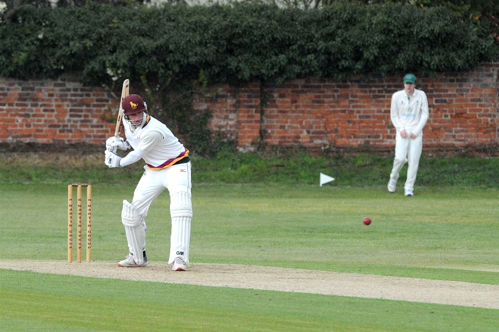 CRICKET - Sudbury (Batting) v Woolpit (Bowling)..Pictured: Henry Shipley...PICTURE: Mecha Morton.... (8539937)