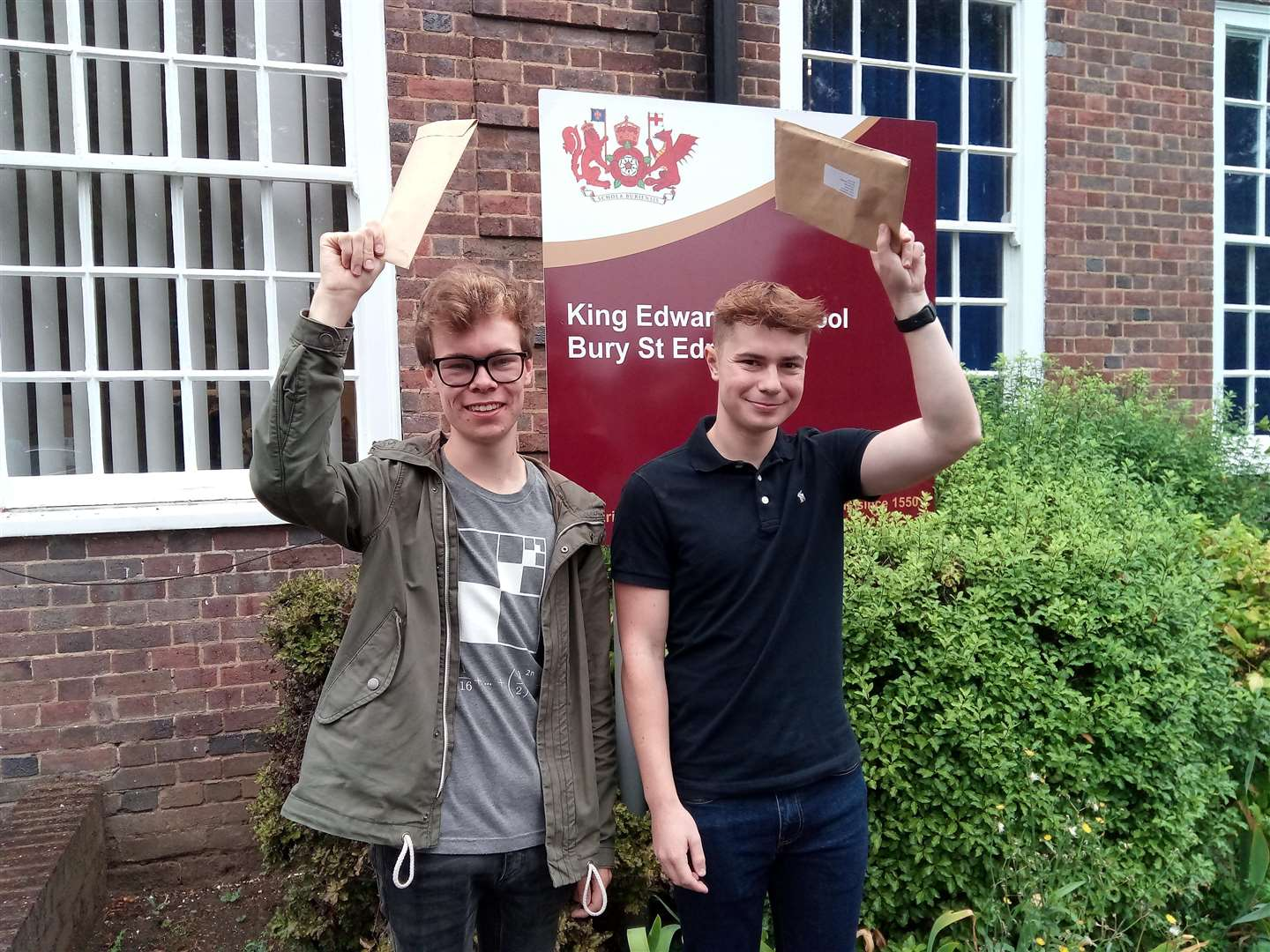 King Edward VI students Will Allsopp and Matthew Jackson (3630196)