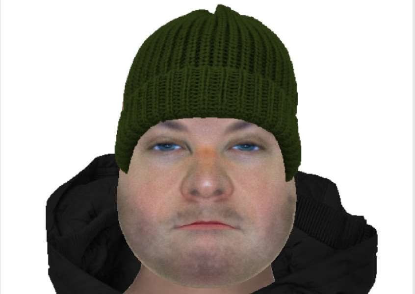 Do you recognise the man in this e-fit issued by Suffolk Police?