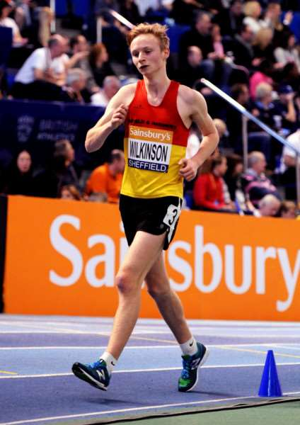 DEBUT TO REMEMBER: Moulton-based race walker Callum Wilkinson impressed on his Great Britain debut. ANL-150519-161321001