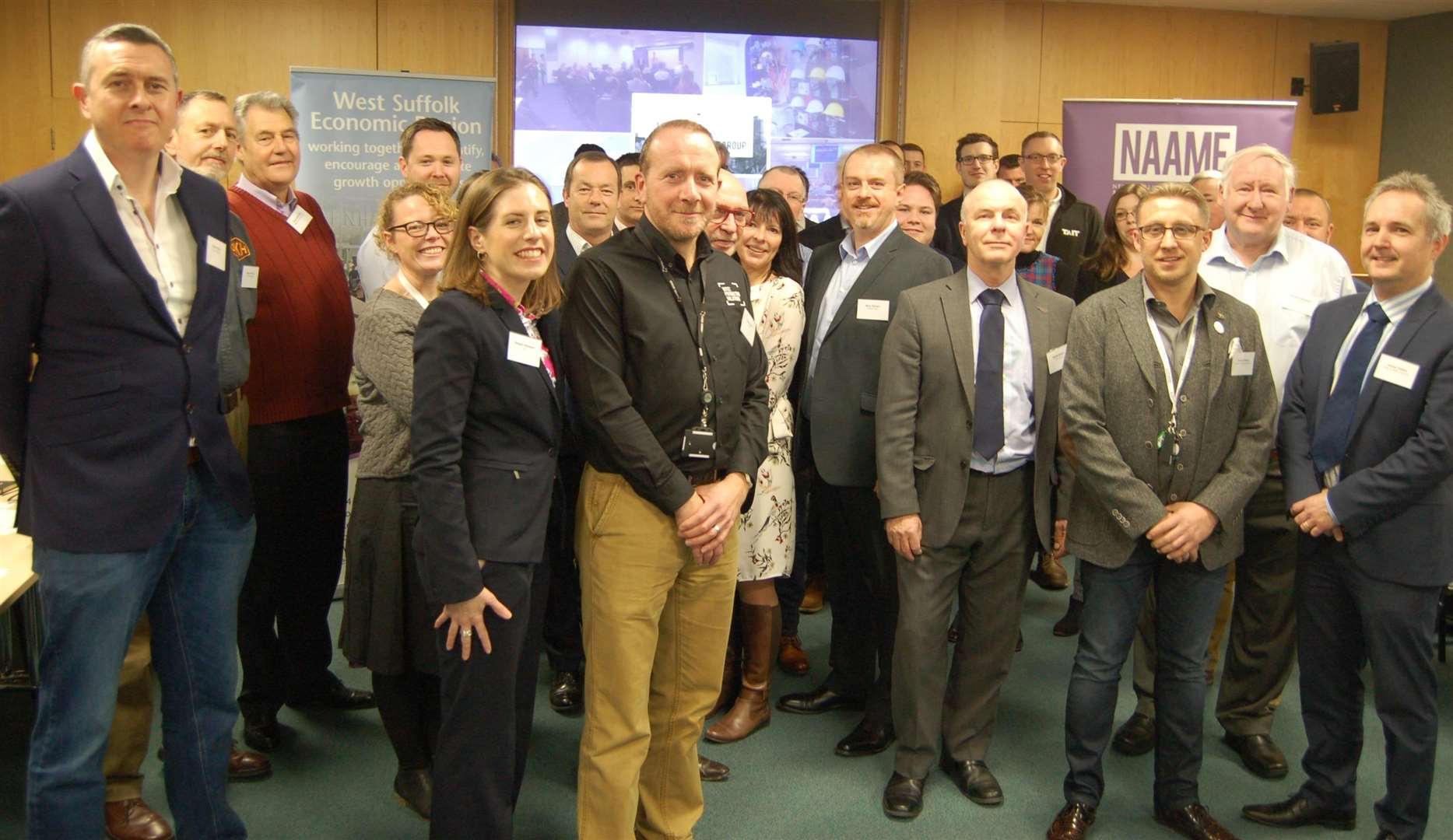 Close to two dozen businesses attended the first meeting of the new West Suffolk Advanced Manufacturing and Engineering Group at Denny Bros (6865149)