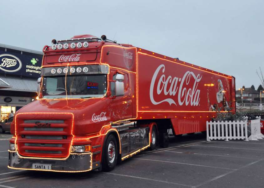 Coca Cola's Christmas lorry is heading to Suffolk ENGSNL00120111117090739