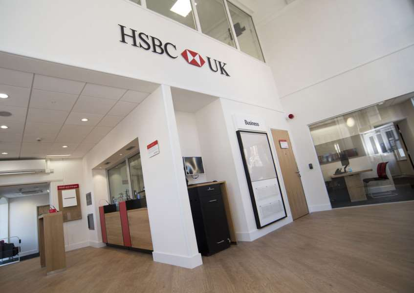 SUDBURY: HSBC reopening after fire 'HSBC, 46 Market Hill, Sudbury 'First look inside and out of HSBC which is reopening after the fire which ripped through Sudbury town centre in September 2015'Picture Mark Westley ANL-161018-225809009