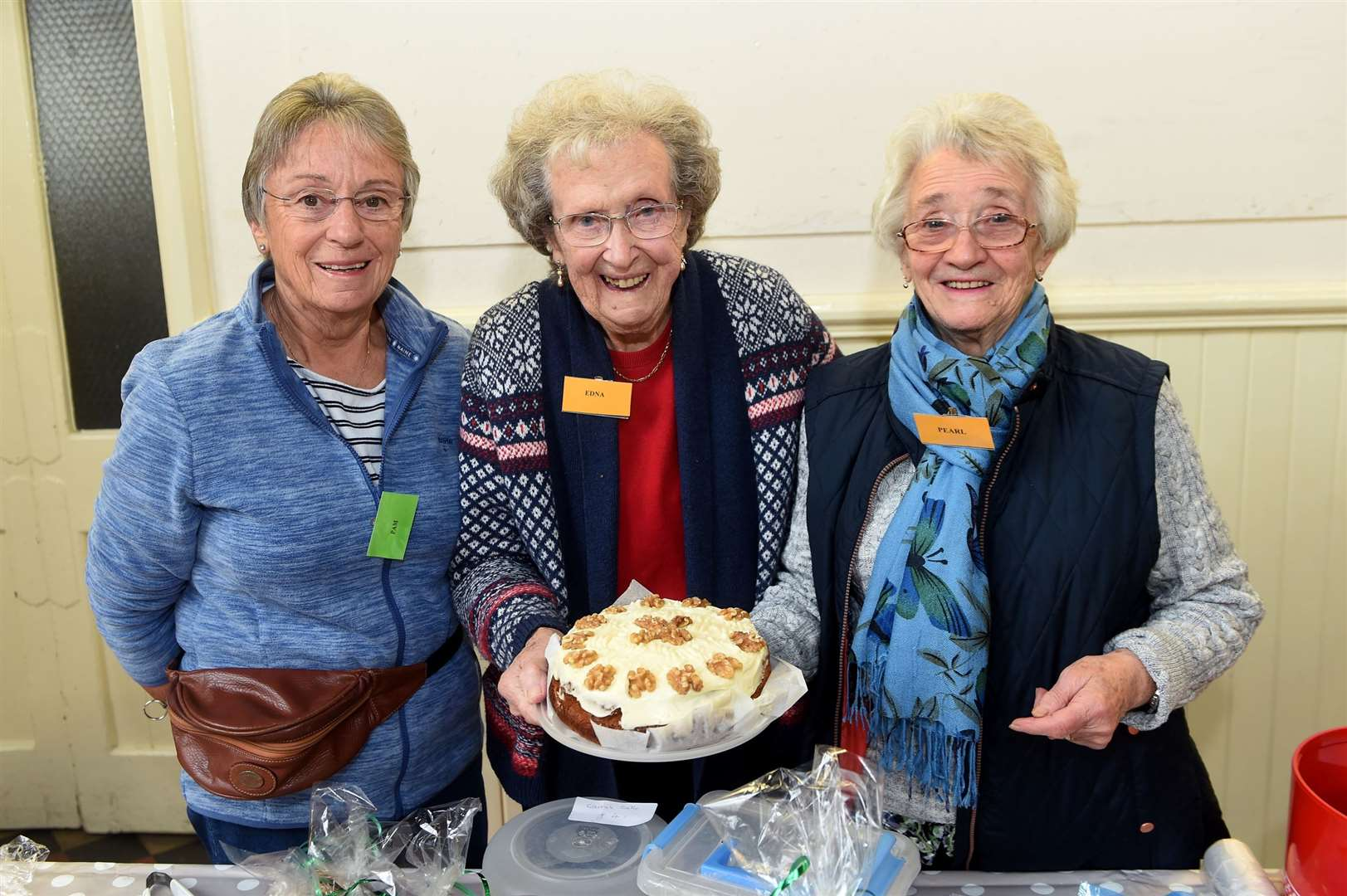 The cake stall proved popular with visitors - Picture by Mecha Morton
