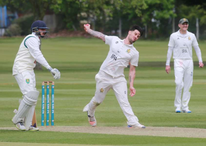 ONE WICKET: Mark Nunn (1-36) claimed one wicket during Bury St Edmunds' 52-run defeat to Great Witchingham